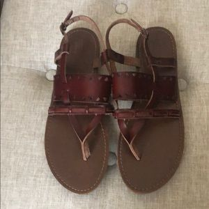 MOSSIMO SUPPLY & CO LEATHER SANDAL
